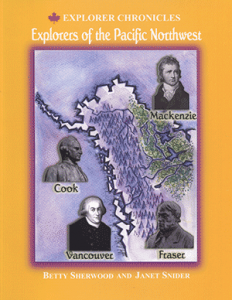 Cover of the Summerhurst Books publication of Explorers of the Pacific Northwest