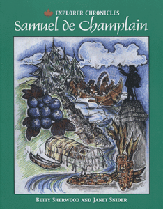 Cover of the Summerhurst Books publication of Samuel de Champlain