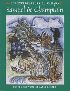 Cover of the Summerhurst Books publication of Samuel de Champlain en français